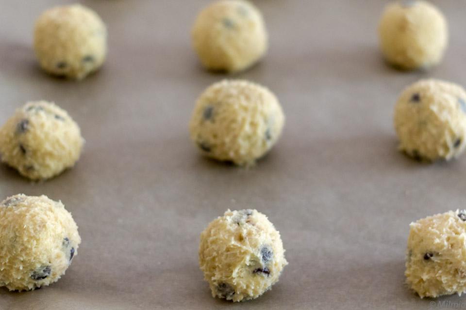 Cookies mit Haferflocken und Schokolade | Oatmeal Chocolate Cookies