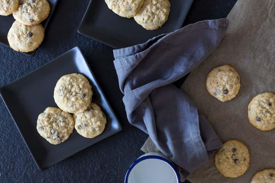 Ein schnelles Rezept für Cookies mit Haferflocken und Schokolade | Oatmeal Chocolate Cookies